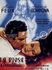 La Diosa Arrodillada Vintage Mexican movie Poster