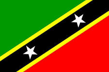 St Kitts & Nevis 3' X 2' 3ft x 2ft Flag With Eyelets Premium Quality