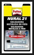 Soldadura Metalica Reparadora en Frio NURAL 21 Gris Pegamento para metal