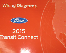 2015 Ford Transit Connect Electrical Wiring Diagram Troubleshooting Manual EWD