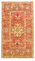 "Hand-knotted Afghan Carpet 2'11"" x 5'7"" Finest Gazni Traditional  Rug"