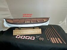 BRITAINS 62003 TITANIC COLLECTION SHIPS LIFEBOAT CIVILIAN FIGURE BOAT NO.6