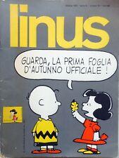 LINUS N.10 1973 RIVISTA FUMETTI JACOVITTI