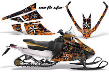 AMR Racing Sled Wrap Arctic Cat F Series Snowmobile Graphic Kit All Years NSTR O