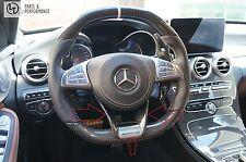 Carbon Lenkradblende Blende für Mercedes-Benz W205 C190 W222 W217 W218 X253 R231