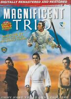 MAGNIFICENT TRIO DVD Lo Lieh and Jimmy Wang Yu Fast Free Shipping !!!