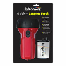 Infapower F014 Red 6v Krypton Bulb 140m Beam Water Resistant Lantern Torch