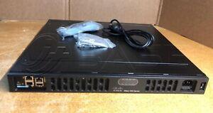 Cisco ISR4331-AXV/K9 Router 4331 ISR UC SEC APP Bundle AXV Bundle PVDM4-32