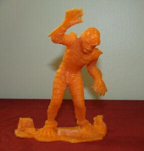 "Vintage Universal Monsters 6"" Louis Marx 1963 Orange Creature Black Lagoon"