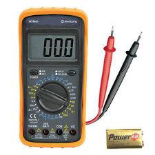 Professional Digital Multi-Meter AC DC Voltmeter Amp Reader Circuit Tester
