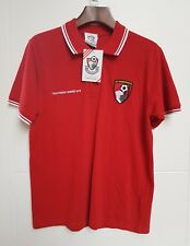 Mens AFC Bournemouth Polo Top Size Medium New