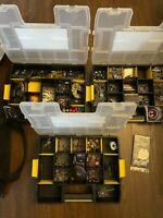 Huge Star Wars Miniatures Game Piece Ships cards Lot Massive rare