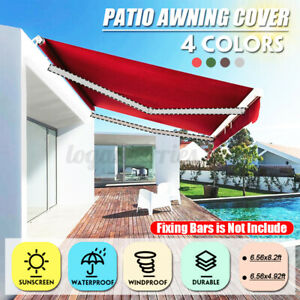 Replacement Fabric Tent Canopy Awning Top Cover Patio Canvas 2*1.5m / 2.5*2m G
