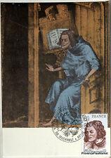 Yt 1955 france postcard maximum Guillaume de machaut
