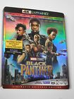 NO DISCS  Black Panther 4K Blu-ray Slipcover  SLIPCOVER ONLY