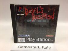 DEVIL'S DECEPTION - SONY PS1 - USATO PERFETTAMENTE FUNZIONANTE - PAL VERSION