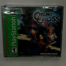 Chrono Cross RPG (PlayStation 1, 2000) Greatest Hits Sealed Jewel Case Flaw