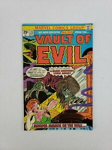 Vault of Evil #23 Nov 1975 Marvel Comics Murder Mirror On The Wall Bronze Age