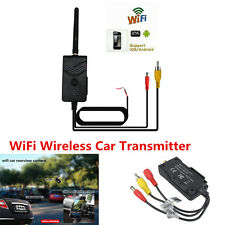Portable WiFi Wireless Car SUV Backup Camera 903W Video Rearview Transmitter Kit