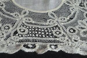 Antik Handgemacht Band Spitze Taschentuch VV705