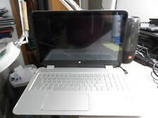 """New listing Hp Pavilion 15-U483cl i7-6500u 4Gb 15.6"""" Touch Laptop As Is #4782"""