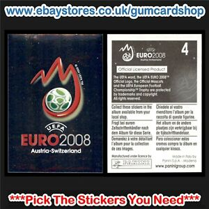 Panini Euro 2008 Stickers (Venues and Stadiums) *Select the Stickers You Need*