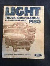 Ford Light Truck Engine Shop Manual 1980