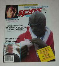 Hi GRADE 1985 SF MOVIE LAND MAGAZINE TERMINATOR LADYHAWKE TWILIGHT ZONE COCOON