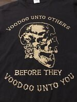 Voodoo Unto Others T-Shirt Black Small Delta Magnum Weight
