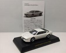 Kyosho 1/64 Lamborghini Urraco Rally Diecast Minicar Car Model White