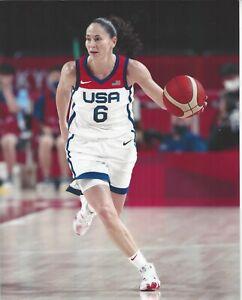2021SUE BIRD OLYMPIC 8x10 COLOR PHOTOGRAPH WNBA SEATTLE STORM UCONN