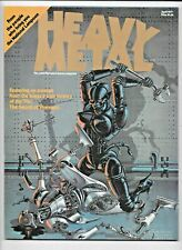 Heavy Metal #1 April 1977 w/insert Sword of Shannara Arzach Moebius Corben FN/VF