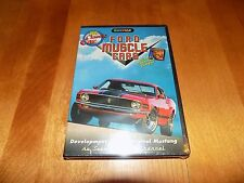FORD MUSCLE CARS My Classic Car Speed Channel TV Mustang Cougar Cobra DVD NEW