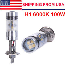 2* H1 LED Fog Light Bulb Headlight Conversion Kit Super Bright 6000K White US