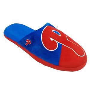 Philadelphia Phillies Forever Collectables Men's Colorblock Slippers