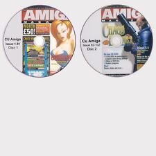 CU AMIGA MAGAZINE COMPLETE PDF COLLECTION 105 MAGAZINES FOR £3.99