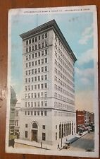 Steubenville Bank and Trust Steubenville, Ohio Vintage Postcard from 1927