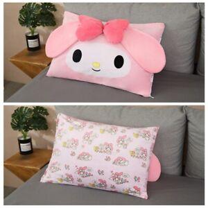 kuromi melody bowknot fuzzy pillowcase pillowslip pillowcases fashion
