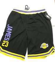 🆕 Los Angeles Lakers Lebron James Official NBA Jersey Shorts Sz L (MSRP $40) 🔥