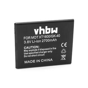 Batterie 2700mAh pour Motorola Moto G5,XT1670,XT1675,XT1672,XT1676,XT1671