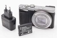Panasonic Lumix DMC-TZ71 Digitalkamera Leica Vario Elmar Optik schwarz