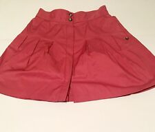 Fei by Anthropologie Women's Pink Skirt Cotton Blend NWOT Size 14