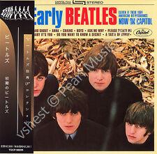 BEATLES THE EARLY BEATLES CD MINI LP OBI Harrison Lennon McCartney Starr new