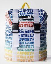 ADIDAS 2017 Stella McCartney STELLASPORT Flap Backpack LAPTOP Rucksack Gym SALE!