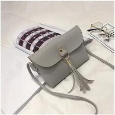 Fashion Womens Bag Vintage Handbag Small Mini Messenger Tassel Shoulder Bags US