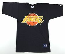 Rare NWOT/NOS Vintage 80s Los Angeles Lakers STARTER T-Shirt Size S Small