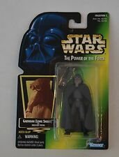 """1997 STAR WARS THE POWER OF THE FORCE """"GARINDAN (LONG SNOOT)"""" ACTION FIGURE MOC"""