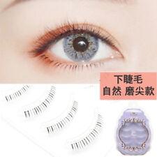 4 Pairs Makeup Lower Bottom Eyelashes Handmade Natural Under Eye Lashes Beauty