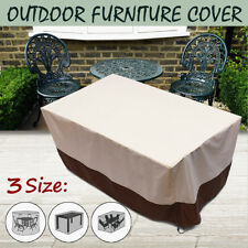 3 Size Dust-proof Outdoor Furniture Cover Chair Table Garden  NEW