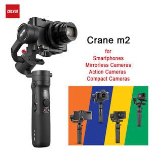 Zhiyun Crane M2 3 Axis Handheld Gimbal Stabilizer For Camera Gopro Smartphone